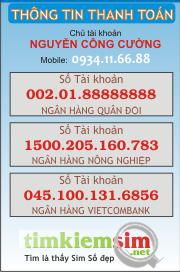 Thông tin Thanh Toán